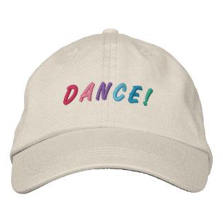 Tanz-mehrfarbige gestickte Kappe 2 Bestickte Kappe