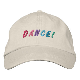 Tanz-mehrfarbige gestickte Kappe 2 Bestickte Mützen