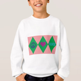 Tanz-Raute Sweatshirt