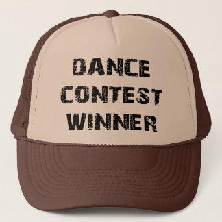 Tanz-Wettbewerb-Sieger Truckerkappe