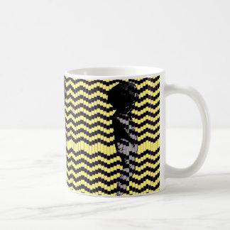Tanzen-Engel-Pop-Kunst-Tasse (Gelb) Tasse