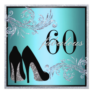 Tanzen-Schuhe - fabelhafte 50. Quadratische 13,3 Cm Einladungskarte