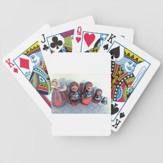 Tanzenpuppen Poker Karten