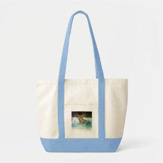 Tapfere Wolf-Handtasche