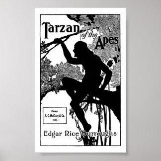 Tarzan der Affen Edgar Rice Burroughs Poster