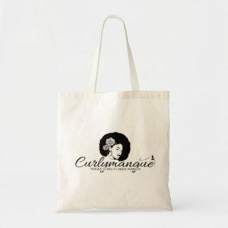 Tasche des Segeltuchs Logotype curlymangue