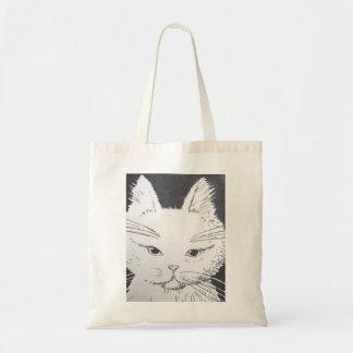 Tasche für Einkaufsbummel süße Katze