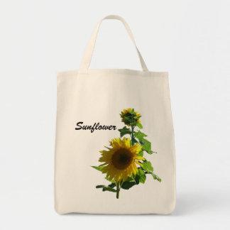 Tasche - Sonnenblumen Einkaufstasche
