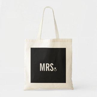 Taschen-Tasche - Frau Ring (Bling) Budget Stoffbeutel