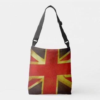 Taschen-Tasche mit alter britischer Flagge Tragetaschen Mit Langen Trägern