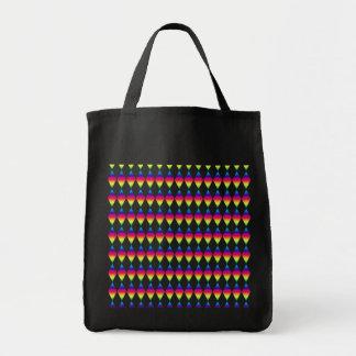 Taschen-Tasche - Regenbogen-Diamanten Einkaufstasche