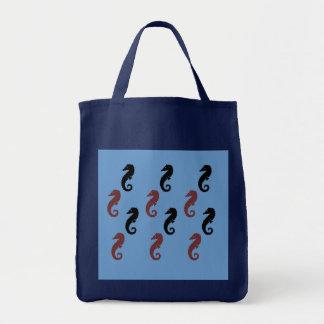 Taschen-Tasche - Seepferde Tragetasche