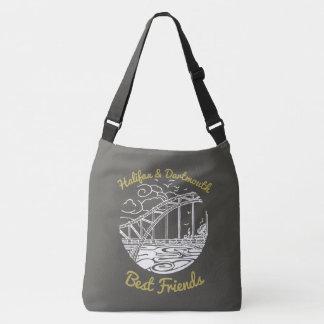 Taschengrau bester Freunde Halifaxes Dartmouth Tragetaschen Mit Langen Trägern