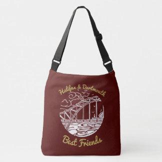 Taschenrot bester Freunde Halifaxes Dartmouth N.S. Tragetaschen Mit Langen Trägern