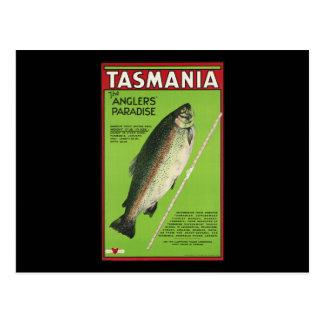 Tasmanien das Paradies der Angler Postkarten