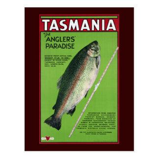 Tasmanien ~ das Paradies des Anglers Postkarten