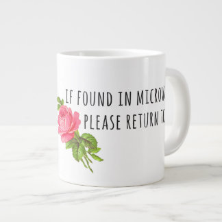 Tasse der Mutter Tages- mit Blumen Extragroße Tasse