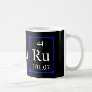 Tasse des Elements 44 - Ruthenium