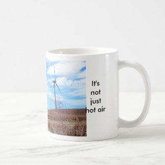 Tasse - es ist nicht gerade Heißluft