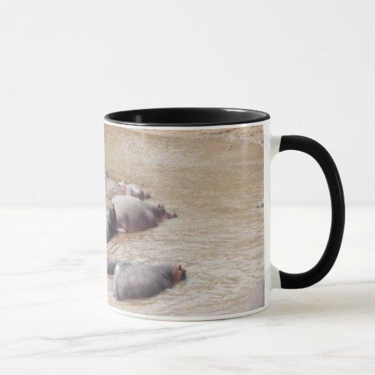 "Tasse ""Flußpferde-Hippos"""