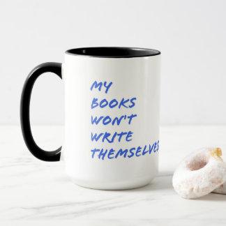 Tasse für Verfasser: Meine Bücher schreiben sich