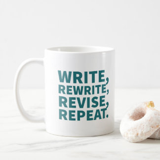 Tasse für Verfasser: Schreiben Sie, schreiben Sie
