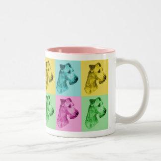 "Tasse Irish Terrier ""pop-art"""
