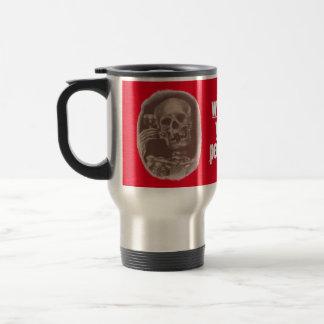 TASSE ~ Kaffee, was Ihr Gift ist? Skeleton Toast