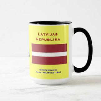Tasse Lettlands (Europa)