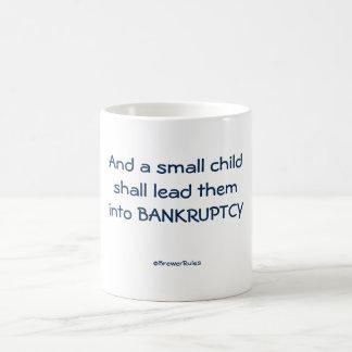 Tasse: Und ein kleines Kind führt sie in… Tasse