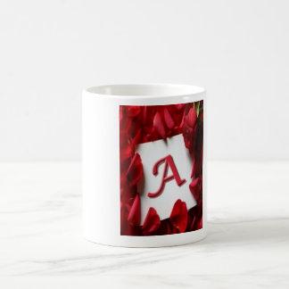 Tassen-Entwurf von a-Alphabet Tasse