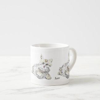 Tassen-Kätzchens Espressotasse