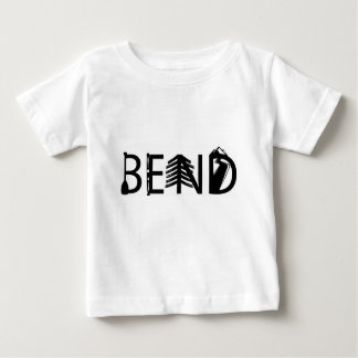 Tätigkeit Biegungs-Oregons im Freienbeschriftet Baby T-shirt