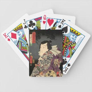"""""""Tatted Samurai-"""" Fahrrad-Spielkarten Bicycle Spielkarten"""