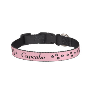 Tatzen-Druck-Hundehalsband Haustierhalsband