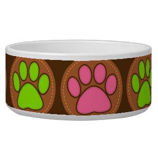 Tatzen Hundefutter-Näpfe