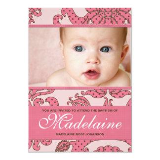 Taufe-Einladung für Baby 12,7 X 17,8 Cm Einladungskarte