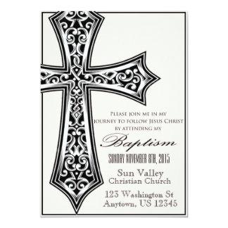 Taufe-Einladungs-12x18 12,7 X 17,8 Cm Einladungskarte