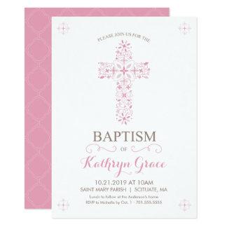 Taufe, Taufe Invitatio, Babys laden ein 11,4 X 15,9 Cm Einladungskarte