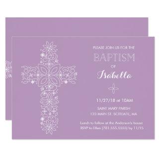 Taufe, Taufeinladung - Baby 8,9 X 12,7 Cm Einladungskarte