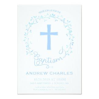 Taufe, Taufeinladung - Baby laden ein 12,7 X 17,8 Cm Einladungskarte