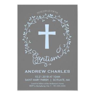 Taufe, Taufeinladung - Gewohnheit 8,9 X 12,7 Cm Einladungskarte