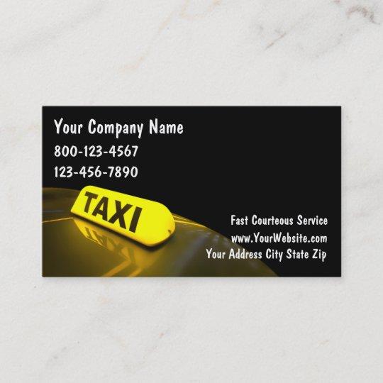 Taxi Visitenkarten Visitenkarte Zazzle At