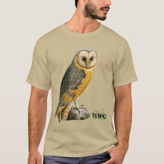 TCWC - Schleiereule Vintag mit Logo T-Shirt