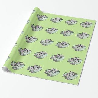 Teacup-Opossum! Geschenkpapier