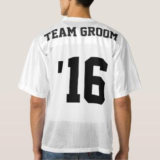 Team-Bräutigam-Fußball Jersey