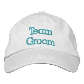 Team-Bräutigam gestickter Hut Bestickte Baseballkappe