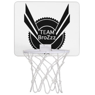 TEAM BroZzz Minibasketball Mini Basketball Ringe