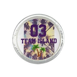 Team-Insel-Kreis-Ring Foto Ringe