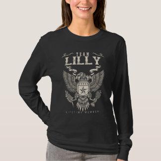 Team LILLY Lebenszeit-Mitglied. T-Shirt